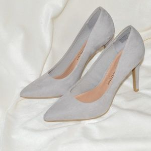 Grey Christian Siriano for Payless Pumps